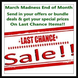 ONLY 2 DAYS LEFT! Last Chance Sale! March Madness!